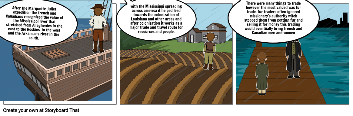 How the Mississippi effected the Americas
