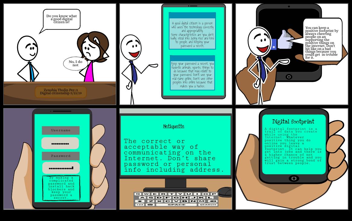 A good digital citizen
