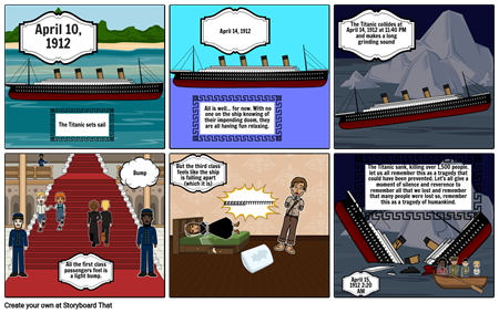 The tragedy of 1912: The Titanic