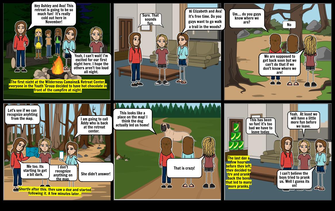 Narrative Storyboard (Fall Retreat)