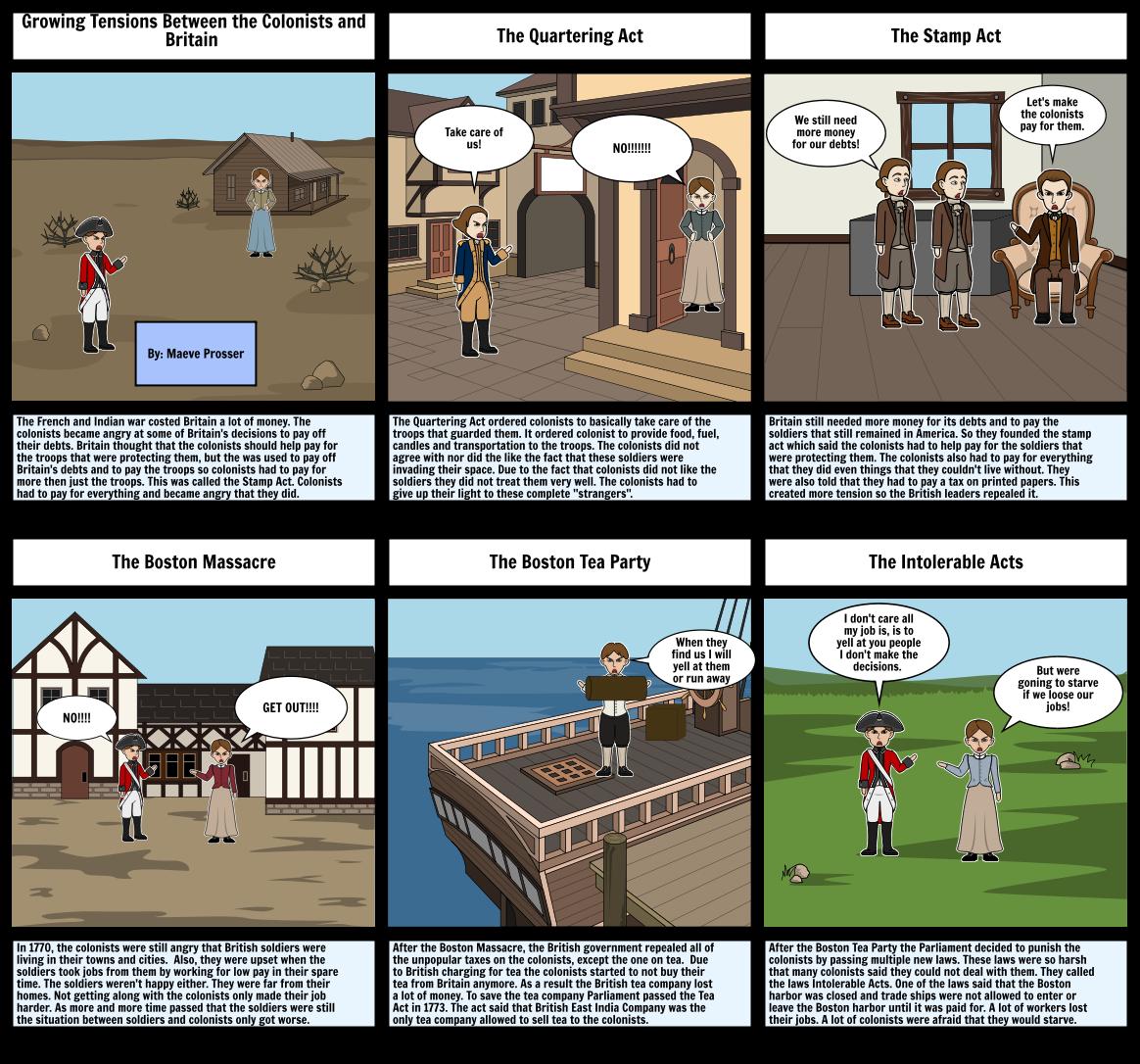 Chapter 10 History storyboard