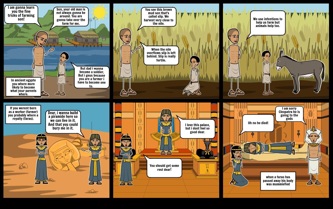 Ancient Egypte life.