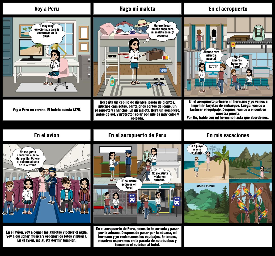Proyecto Tira Comica: Vamos de Viaje