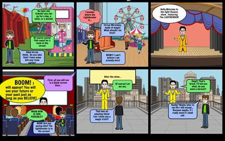 The Lightbender: Circus Mirandus