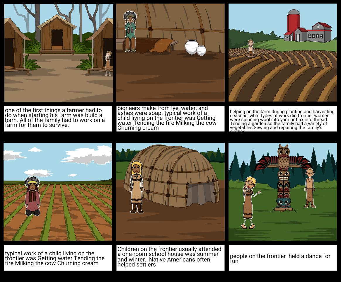 Pioneer Life Storyboard by 55c00850