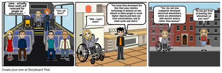story board 2 disability