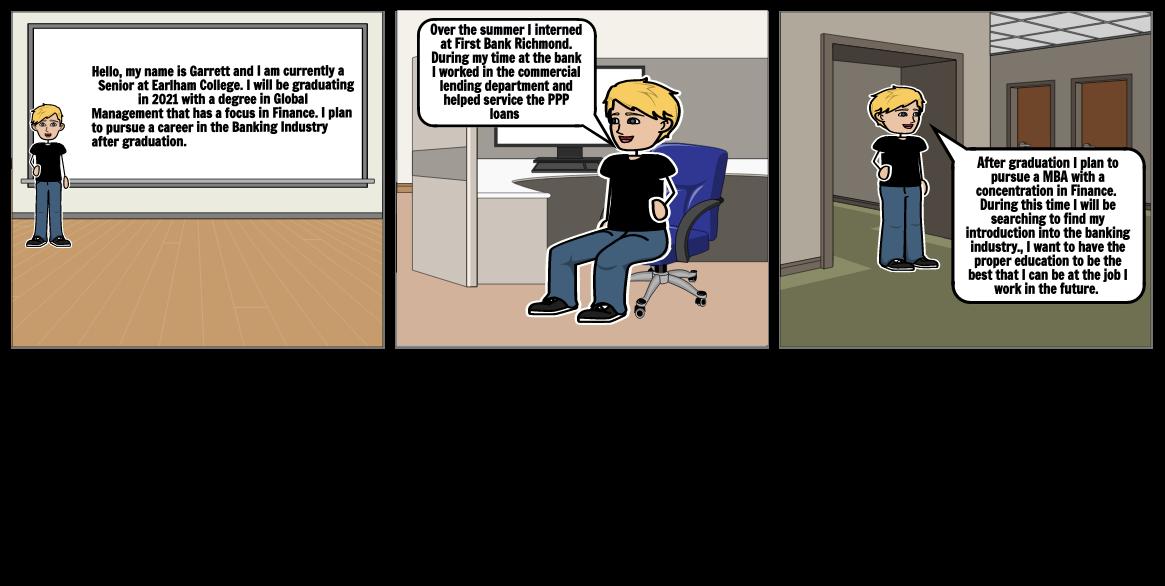 Resume Storyboard