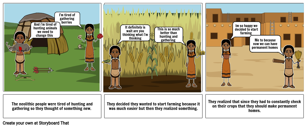 neolithic comic strip
