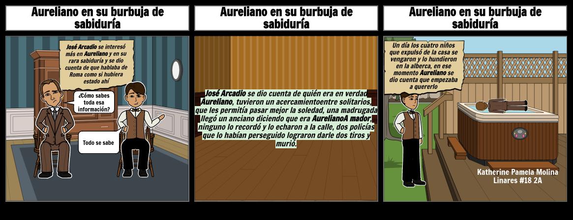 Aureliano en su burbuja de sabiduría
