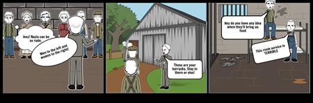 Holocaust Nathan Hale Storyboard