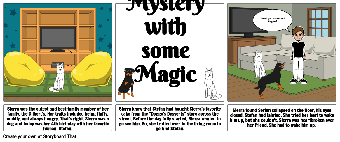 Sierra the Savior - A Doggy's Tale