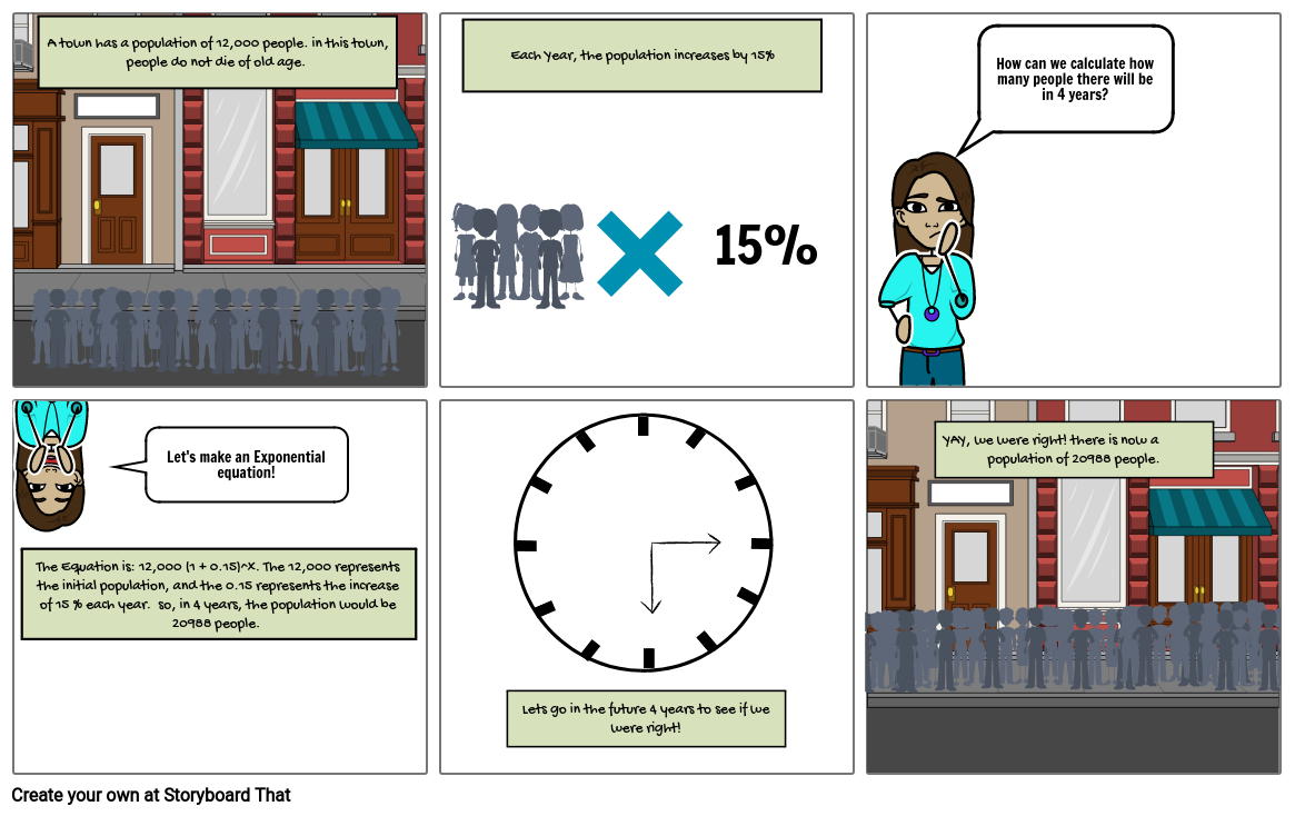Lili Storyboard Exponential Word Problem