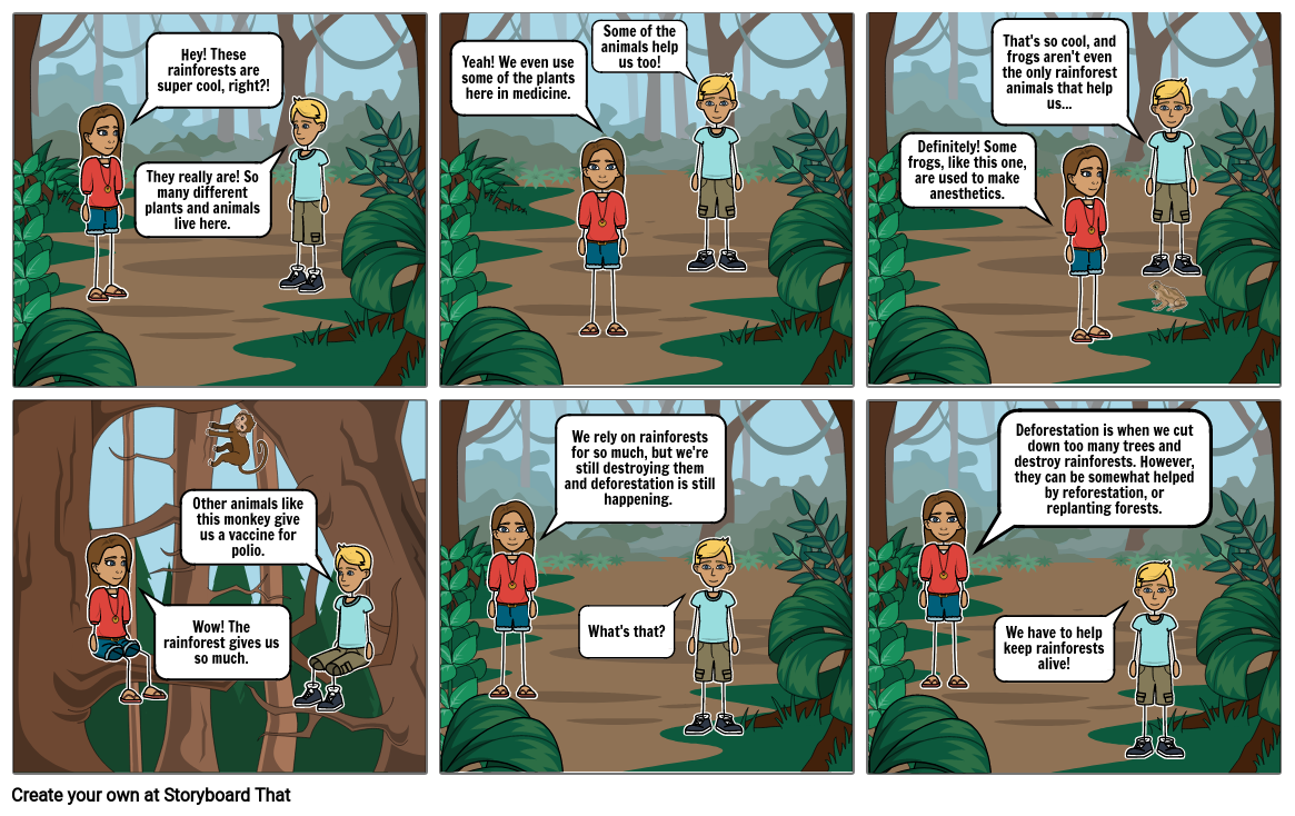 Rainforest Comic