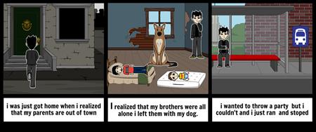 the sad story part 1