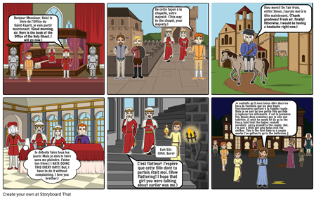 SS King Louis XIV Storyboard Part 1