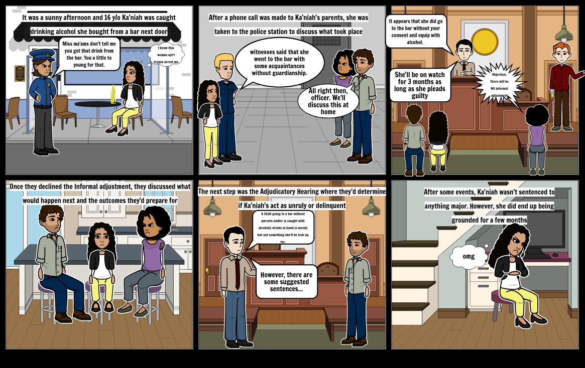 Juvenile Justice Comic Strip