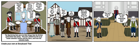 Demonstration of How Bad the Quartering Acts Were