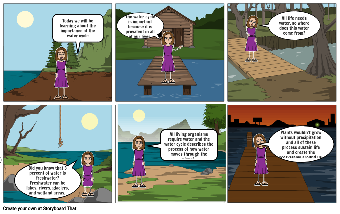 Why is tThe Water Cycle Important?