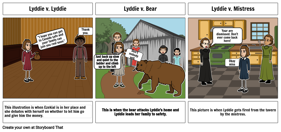 Conflict Lyddie