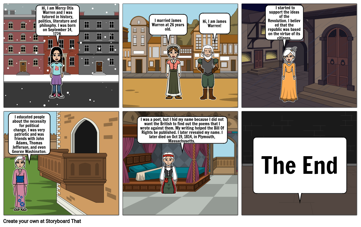 Story Board History Project