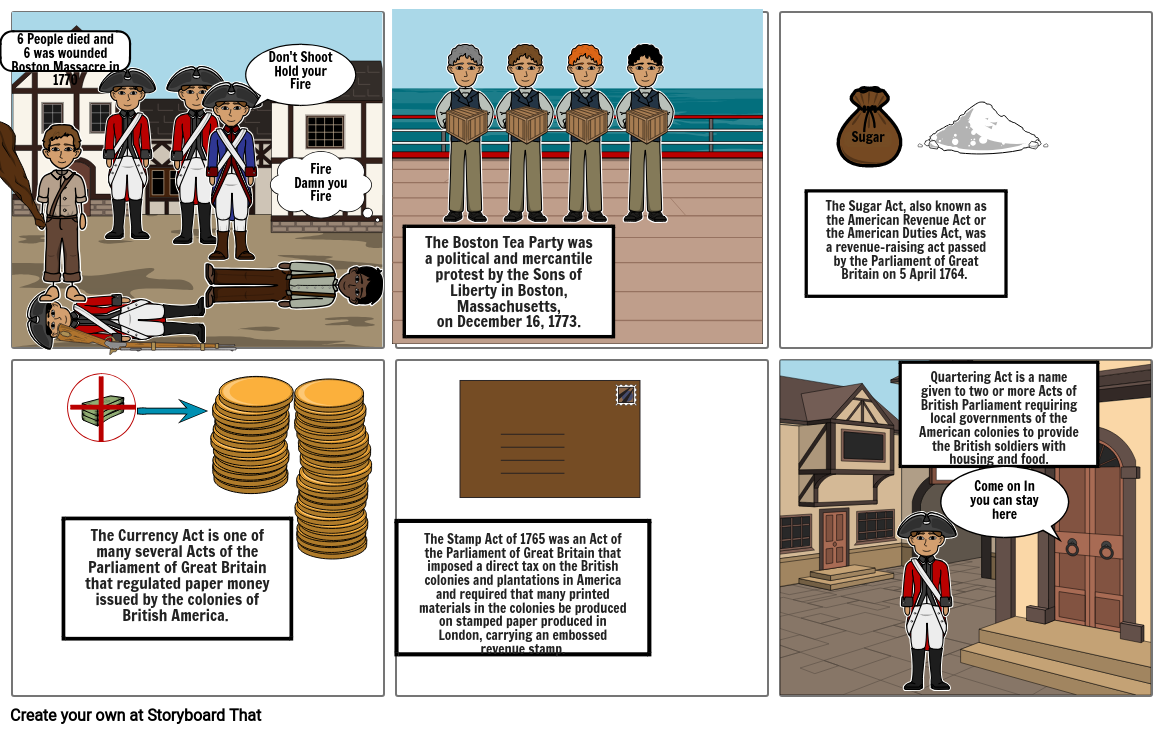 StoryBoard Colonial Defiance