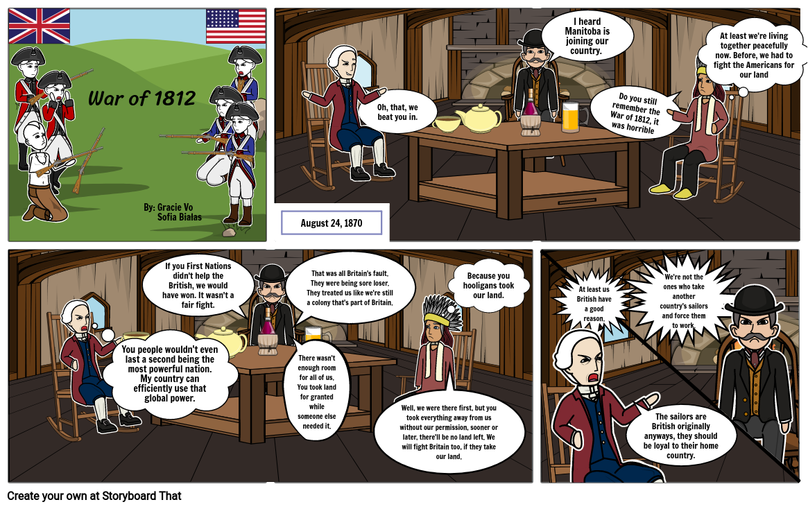 War of 1812 (part 1)