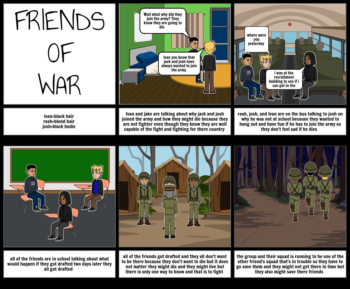 freinds of war