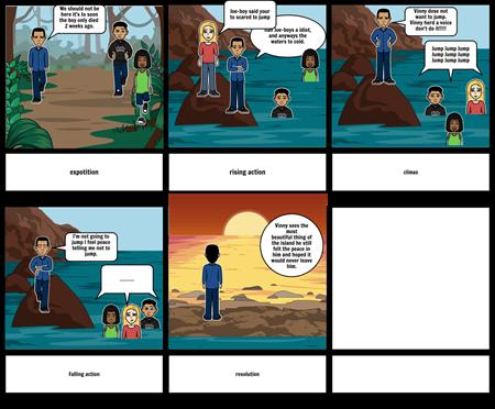The Ravine comic strip.