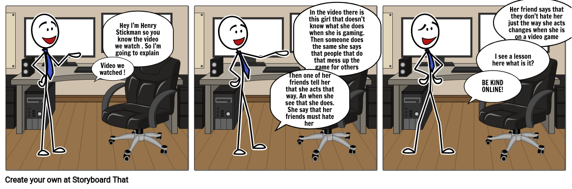 Henry Stickman Explain the first video & says a lesson