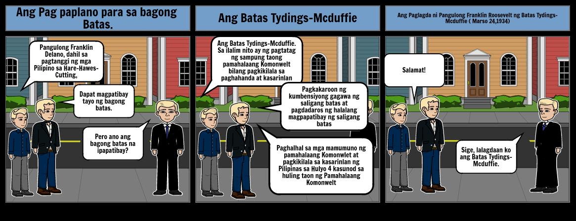 Ang Pagpapatibay ng Batas Tydings-Mcduffie
