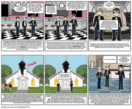 Chapter 6: The Outsiders storyboard