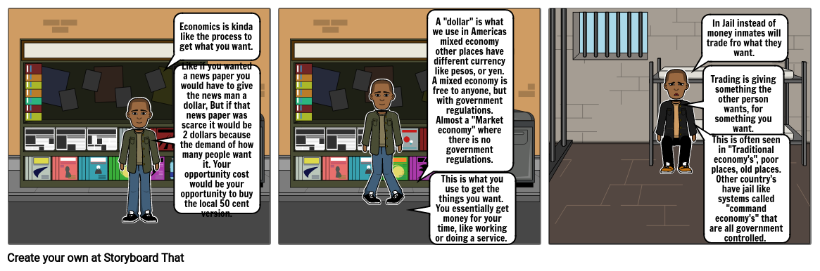 Economics strip