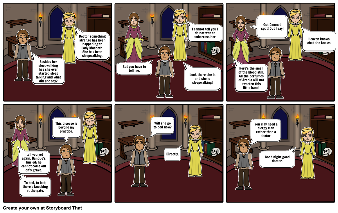 Macbeth Act 5 Scene 1