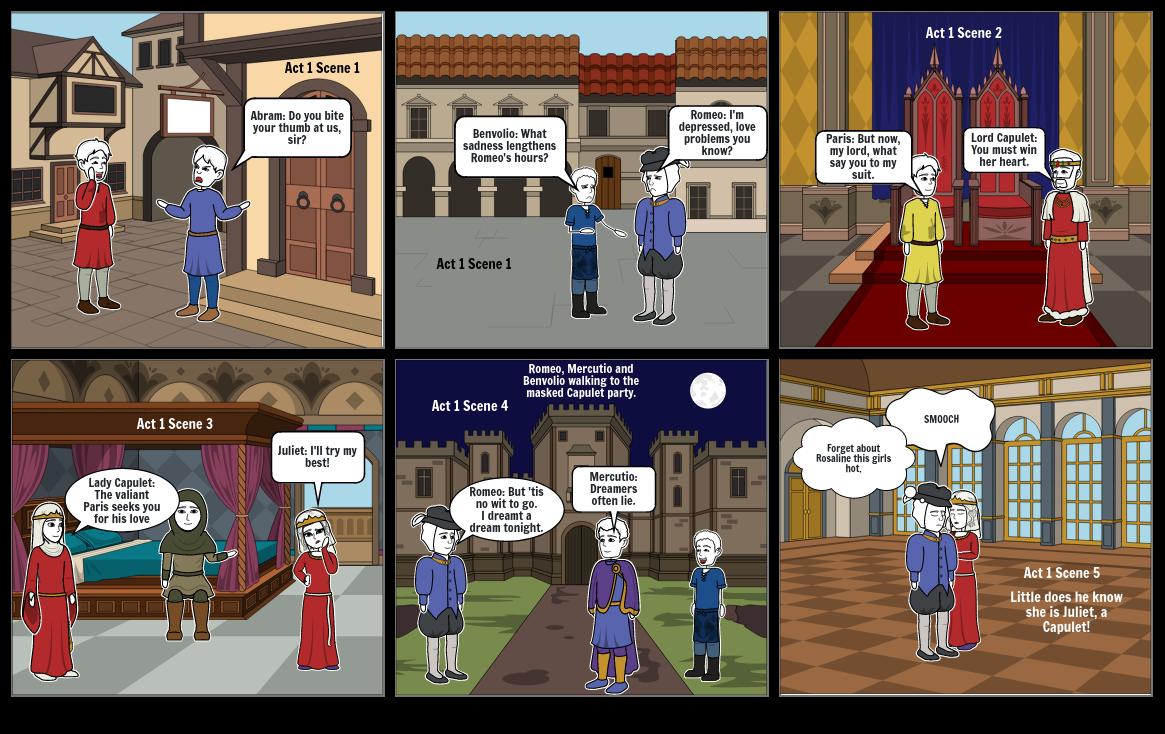 Romeo Juliet Act 1