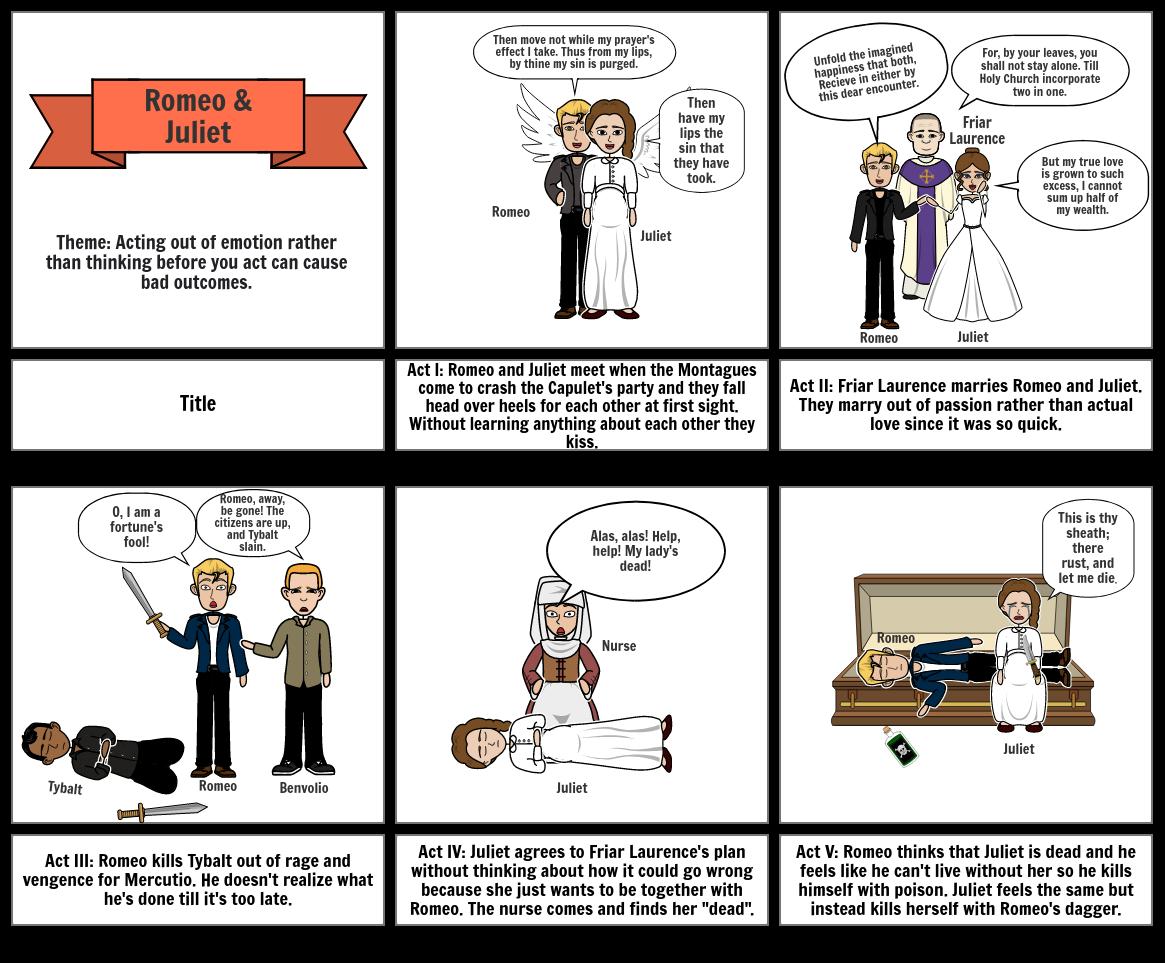ELA Final Exam Projec 2021: Romeo & Juliet