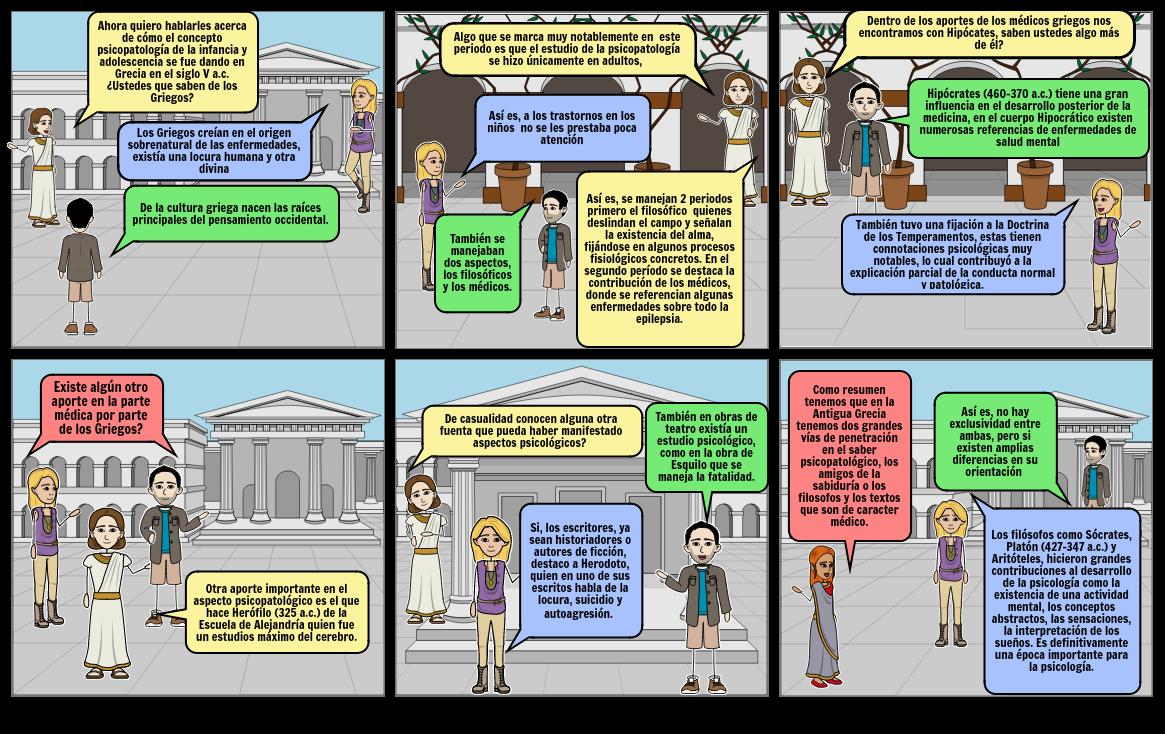 Grecia - Psicopatología Infancia y Adolescencia