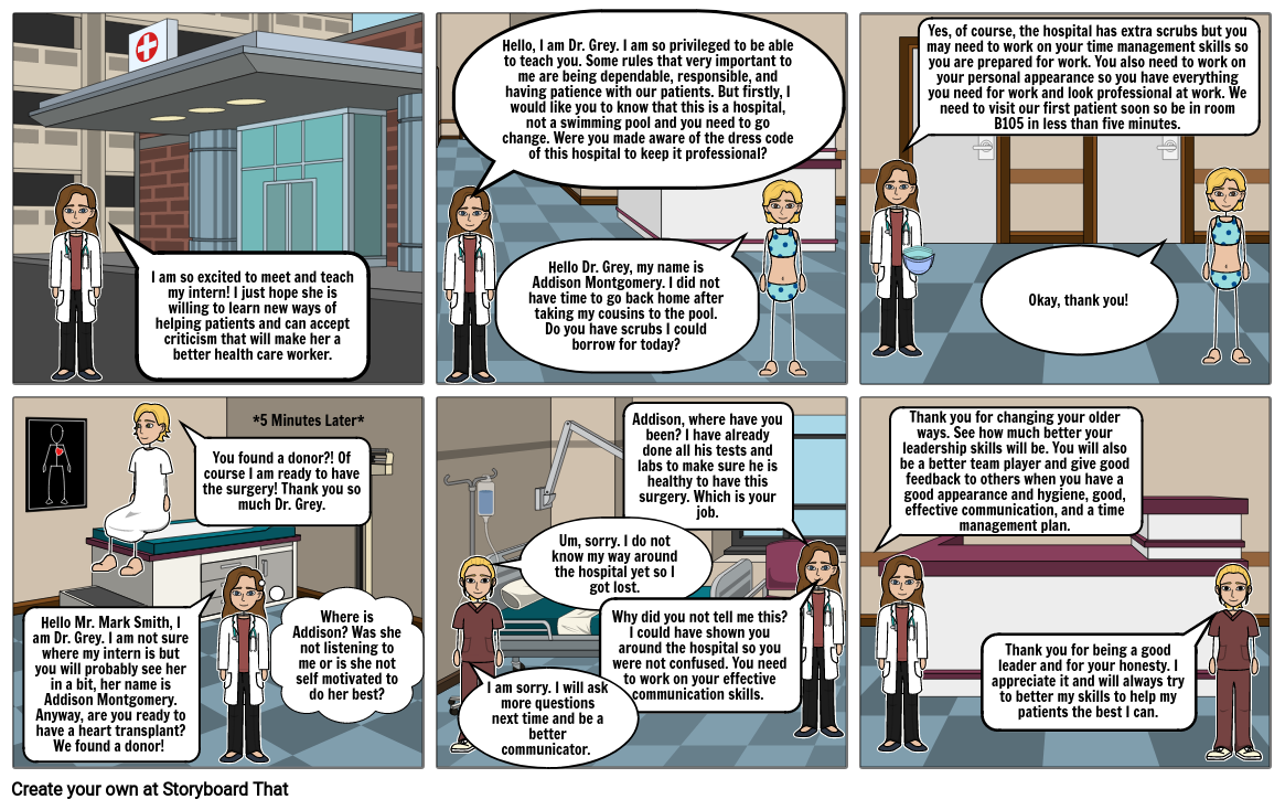Foundations of Health Care Comic