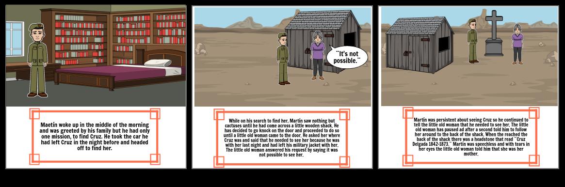 El Soldado y La Mujer Part 2