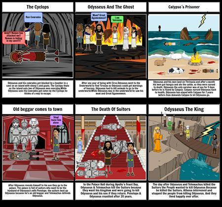 The Odyssey Storyboard