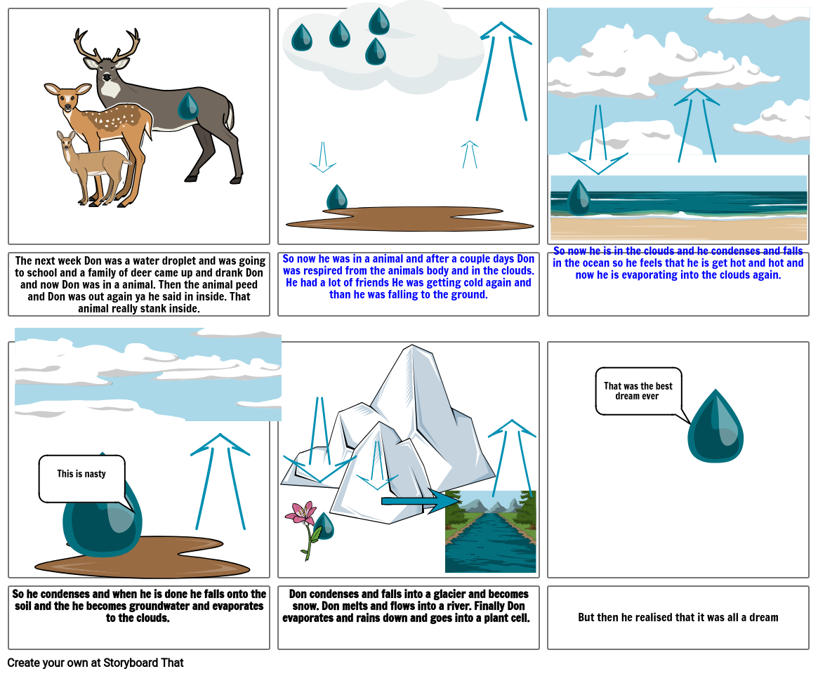 Mason's Water Cycle