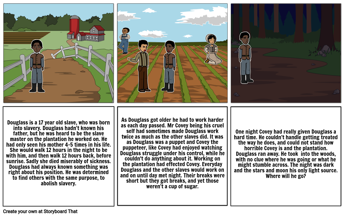 Frederick Douglass Story