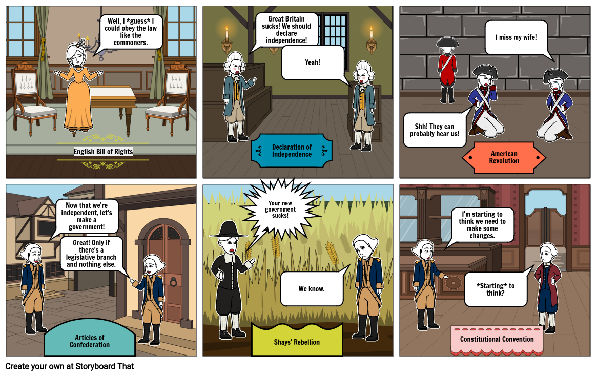 Constitutional Storyboard (Part One)