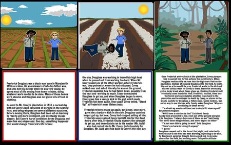 Frederick Douglass Storyboard Part 1