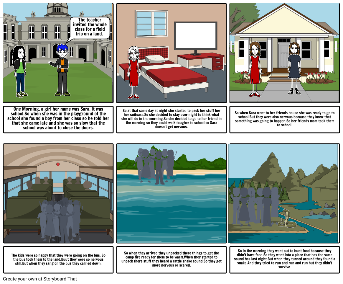 The Snake Killer Storyboard by 6f7d2f0a