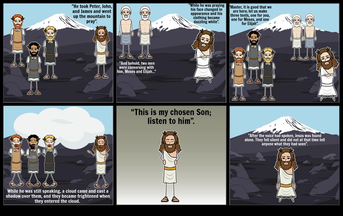 Luke 9: The Transfiguration of Jesus