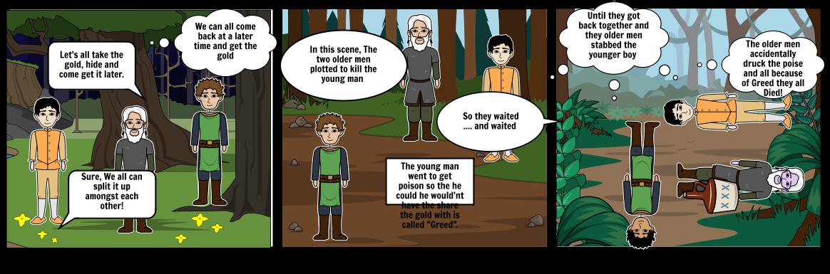 K. Thornton Storyboard