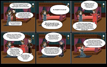Romeo and Juliet: Act 3 Scene 5