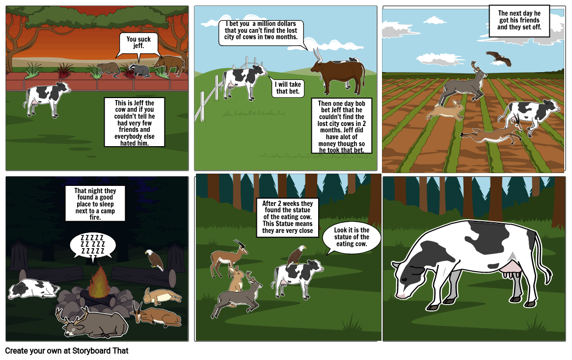 The Adventures of Jeff the Cow