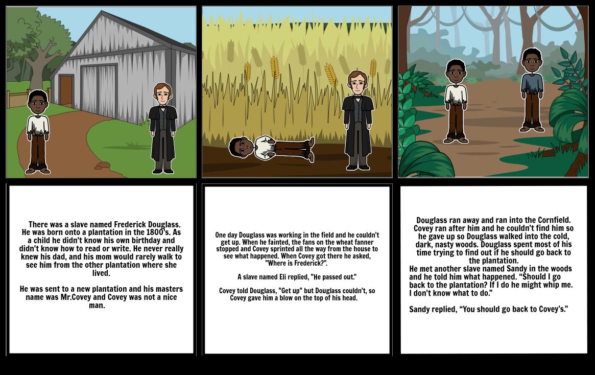 Fredrick Douglass story book