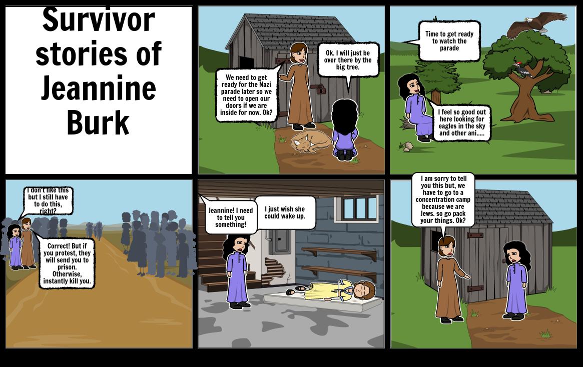 Survivor stories of Jeannine Burk